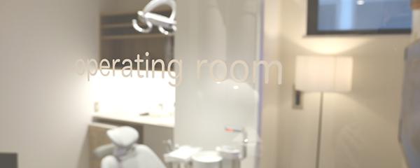 プライバシーに配慮された 安心の完全個室診療室あり